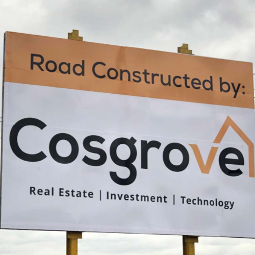 Cosgove Project sign